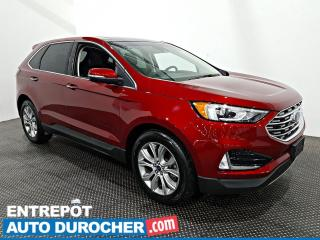 Used 2019 Ford Edge Titanium - AWD - NAVIGATION - CUIR - CLIMATISEUR for sale in Laval, QC