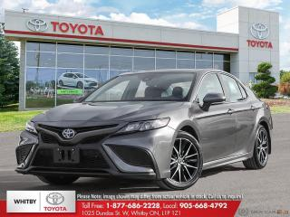 New 2021 Toyota Camry HYBRID SE Upgrade for sale in Whitby, ON