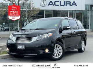 Used 2016 Toyota Sienna XLE LIMITED AWD for sale in Markham, ON