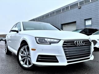 Used 2018 Audi A4 PROGRESSIVE|NAVIGATION|HEATED SEATS|SUNROOF|REAR VIEW|ALLOYS for sale in Brampton, ON