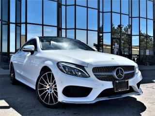 Used 2018 Mercedes-Benz C-Class C 300 4MATIC Coupe for sale in Brampton, ON