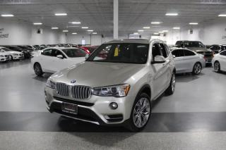 Used 2017 BMW X3 XDRIVE28i I NAVIGATION I PANOROOF I REAR CAM I PUSH START for sale in Mississauga, ON