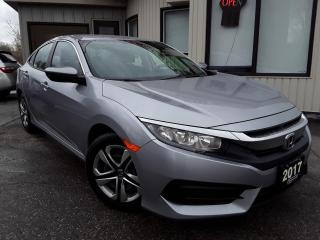 Used 2017 Honda Civic LX Sedan - BACK-UP CAM! HEATED SEATS! CAR PLAY! for sale in Kitchener, ON