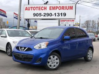 Used 2017 Nissan Micra Auto SV All Power/Bluetooth/Camera for sale in Mississauga, ON