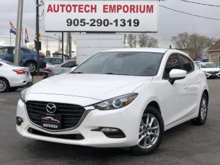 Used 2017 Mazda MAZDA3 Prl White GS Navigation/Camera/Heated Seats&Steering/Alloys for sale in Mississauga, ON