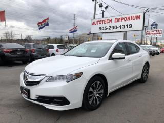 Used 2017 Acura TLX Prl White Tech Navigation/Lane Keeping/Remote Starter for sale in Mississauga, ON