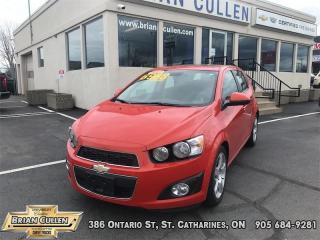 Used 2012 Chevrolet Sonic LT for sale in St Catharines, ON