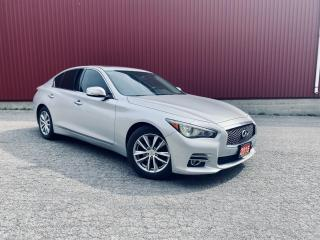Used 2015 Infiniti Q50 NAVI, B-CAM, SUNROOF for sale in Scarborough, ON