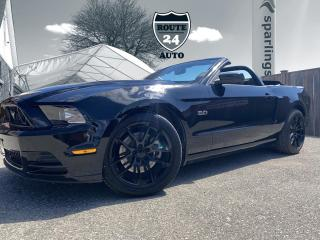 Used 2014 Ford Mustang GT, Low kilometers, Convertible, 5.0L, Absolutely Gorgeous!!! for sale in Brantford, ON