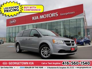 Used 2013 Dodge Grand Caravan SXT | 7 PASS | B/T | STOW N' GO | TINTS | ALLOYS for sale in Georgetown, ON