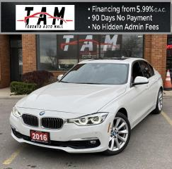 Used 2016 BMW 3 Series 328i xDrive Luxury Line NAVI PDC Heads Up 360 Camera Heated Steering for sale in North York, ON