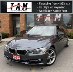 Used 2013 BMW 3 Series 328i Sport Line NAVI Sunroof heads-Up Back-Up Camera Clean Carfax No Accident for sale in North York, ON