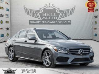 Used 2017 Mercedes-Benz C-Class AMG PKG, AWD, NAVI, REAR CAM, B.SPOT, PANO ROOF for sale in Toronto, ON