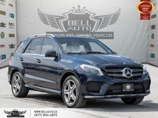 Used 2016 Mercedes-Benz GLE GLE 350d, AMG PKG, AWD, NAVI, 360 CAM, B.SPOT, PANO for sale in Toronto, ON