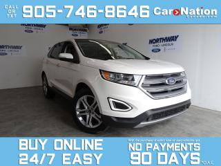 Used 2017 Ford Edge TITANIUM | AWD | PANO ROOF | LEATHER | NAV for sale in Brantford, ON