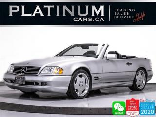 Used 1998 Mercedes-Benz SL-Class SL600 ROADSTER, V12, GLASS ROOF, POWER SEATS for sale in Toronto, ON