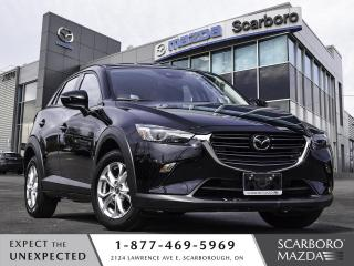 Used 2019 Mazda CX-3 0.99%FINANCE GS AWD BLIND SPOT MONITORING 1 OWNER for sale in Scarborough, ON