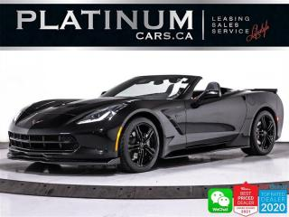 Used 2017 Chevrolet Corvette Stingray, V8 455HP, CONVERTIBLE, BOSE, HEATED, BT for sale in Toronto, ON