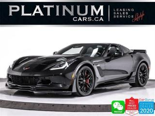 Used 2017 Chevrolet Corvette Z06 650HP, 2LZ, Z07 PKG, COMPETITION SEATS, NAV for sale in Toronto, ON
