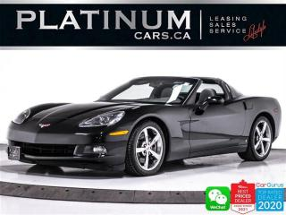 Used 2009 Chevrolet Corvette 430HP, MANUAL, TARGA TOP, BT, POWER SEAT, AUX for sale in Toronto, ON