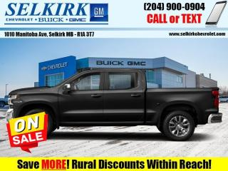 New 2021 Chevrolet Silverado 1500 Custom Trail Boss for sale in Selkirk, MB