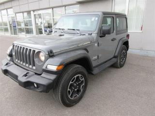 Used 2019 Jeep Wrangler Sport Trail Rated 4x4 for sale in Mississauga, ON