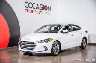 Used 2018 Hyundai Elantra GL+BLUETHOOTH+SIEGES CHAUFFANTS+REG DE VITESSE for sale in Laval, QC