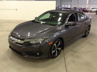 Used 2017 Honda Civic TOURING CUIR TOIT NAV for sale in Longueuil, QC