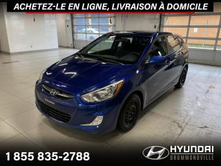 Used 2017 Hyundai Accent SE + GARANTIE + TOIT + A/C + MAGS + WOW for sale in Drummondville, QC
