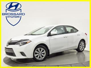 Used 2016 Toyota Corolla LE A/C BLUETOOTH CAMERA DE RECUL CRUISE for sale in Brossard, QC
