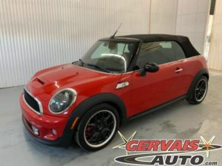 Used 2012 MINI Cooper Convertible S Mags Cuir/Tissus A/C Sieges Chauffants for sale in Trois-Rivières, QC