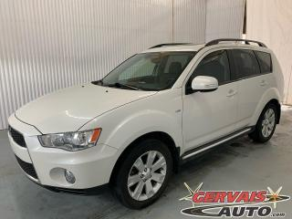 Used 2012 Mitsubishi Outlander XLS 4X4 V6 Mags Cuir Toit ouvrant 7 passagers for sale in Trois-Rivières, QC