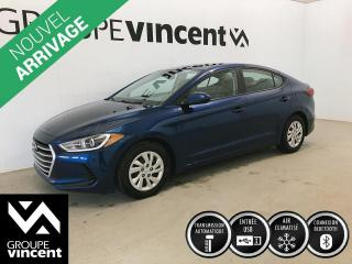 Used 2017 Hyundai Elantra SE ** GARANTIE 10 ANS ** Berline fiable et économique! for sale in Shawinigan, QC