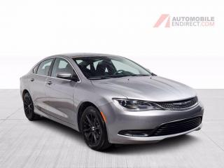 Used 2015 Chrysler 200 LX A/C Caméra Bluetooth for sale in St-Hubert, QC