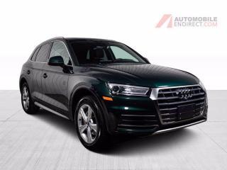 Used 2018 Audi Q5 Progressiv Quattro Cuir Brun Toit Pano GPS Caméra for sale in St-Hubert, QC