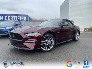 Used 2018 Ford Mustang GT haut niveau à toit fuyant for sale in St-Hyacinthe, QC