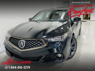Used 2019 Acura TLX A-Spec berline SH-AWD avec ensemble Tech for sale in Chicoutimi, QC