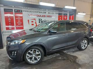 Used 2017 Kia Sorento SX V-6 AWD 5000 LIVRES ATTACHE DÉMARREUR CUIR GPS for sale in Blainville, QC