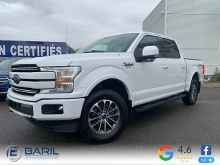 Used 2018 Ford F-150 Lariat cabine SuperCrew 4RM caisse de 5, for sale in St-Hyacinthe, QC