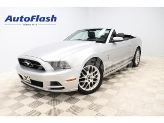 Used 2014 Ford Mustang *PREMIUM *CONVERTIBLE *V6 *CUIR *CRUISE *A/C for sale in St-Hubert, QC