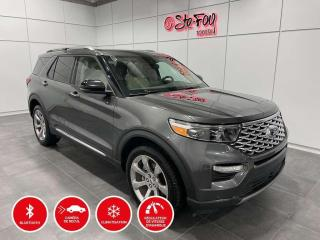 Used 2020 Ford Explorer PLATINUM - AWD for sale in Québec, QC