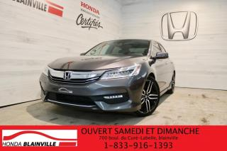 Used 2017 Honda Accord 4 portes V6 automatique Touring for sale in Blainville, QC