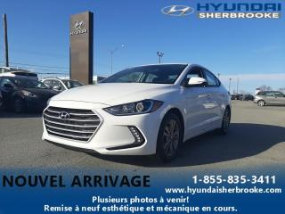 Used 2018 Hyundai Elantra GL CAMERA BANC/VOLANT CHAUFF ANGLES-MORT for sale in Sherbrooke, QC