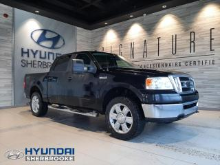 Used 2008 Ford F-150 XLT 4X4 5.4 CREW CAB HITCH AIR BOITE 5 P for sale in Sherbrooke, QC