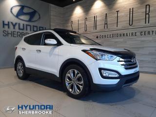 Used 2015 Hyundai Santa Fe LTD 2.0T AWD GPS TOIT PANO CUIR CAMERA for sale in Sherbrooke, QC