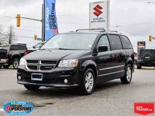 Used 2014 Dodge Grand Caravan Crew ~Heated Seats/Wheel ~Backup Cam ~Stow 'N Go for sale in Barrie, ON