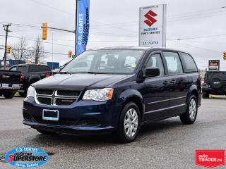 Used 2017 Dodge Grand Caravan ~Dual Zone Climate Control ~Rear Stow 'N Go for sale in Barrie, ON