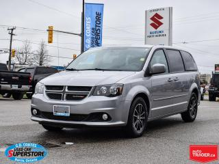 Used 2017 Dodge Grand Caravan GT ~Heated Leather ~Power Doors ~Camera ~Bluetooth for sale in Barrie, ON
