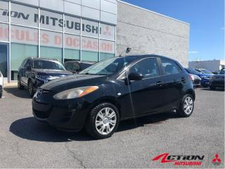 Used 2011 Mazda MAZDA2 GX+AUTOMATIQUE+AIR CLIMATISÉ+TÉLÉ-DERROUILLAGE for sale in St-Hubert, QC
