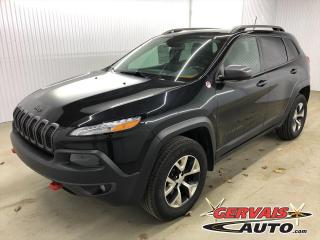 Used 2016 Jeep Cherokee Trailhawk V6 4x4 GPS Cuir Toit Panoramique MAGS for sale in Shawinigan, QC